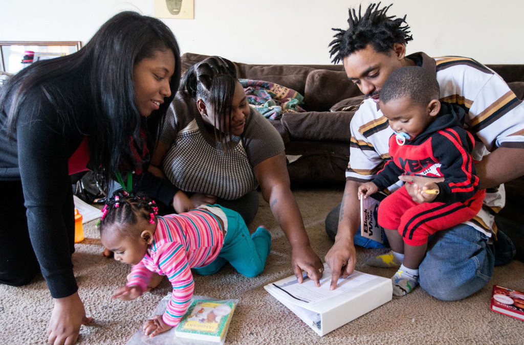 Omaha World-Herald: Learning Community's home visitors help families build better learning environments for young kids