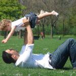 dadgirlairplanepose