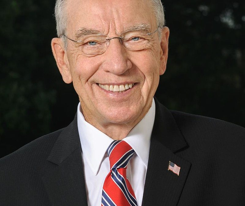 Letter to the Editor: Thank you Sen. Grassley